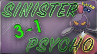 TwinToWin101 Gets Psycho on Sinister with Psycho-Cut Medicham | Pokémon Go PvP