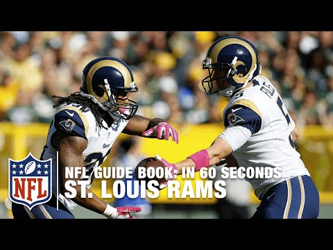 The St. Louis Rams: The Greatest Show On Turf | In 60 Seconds | NFL