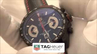 часы TAG HEUER: Grand Carrera Calibre 17 (Видео-обзор)