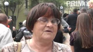 Памятник Юлу Бриннеру открыли во Владивостоке
