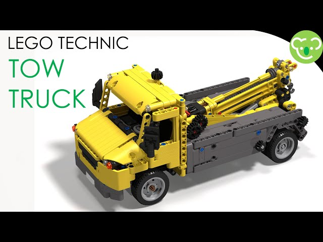 City Tow Truck - MOC LEGO Technic