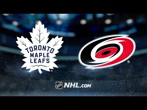 Toronto Maple Leafs vs Carolina Hurricanes | Dec.11, 2018 | Game Highlights | NHL 2018/19 | Обзор