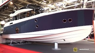 2017 Beneteau Monte Carlo 5 Motor Yacht - Deck and Interior Walkaround - 2016 Salon Nautique Paris