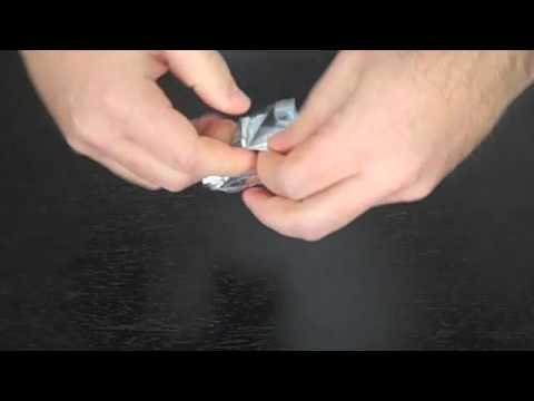 how to make foil labels