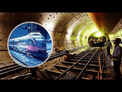 1st trial of Kolkata Underwater Metro | Howrah Maidan to B.B.D. Bagh