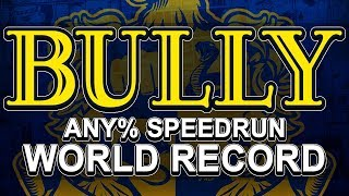 BULLY SPEEDRUN! - WORLD RECORD (Real Time: 2h 36m 8s/In-Game Time: 2h 38m 39s)