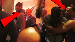 OMG! I TALKED TO KYRIE IRVING AND SHOOK HIS HAND! thumbnail