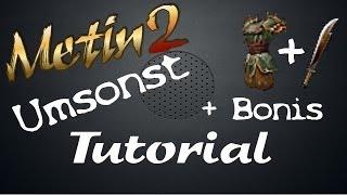 Basis EQ mit Bonis Umsonst bekommen / How to | Vossi Metin2