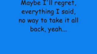DAVID ARCHULETA - A Little Too Not Over You lyrics