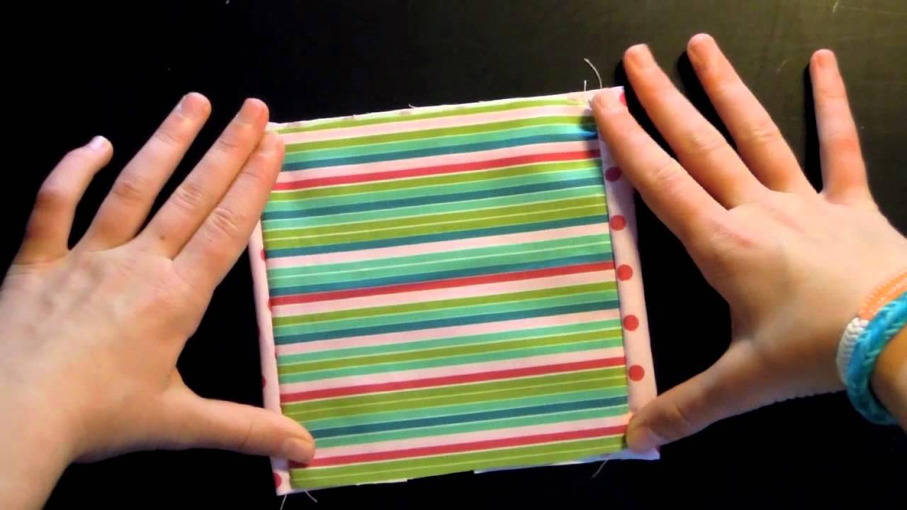 Nähen für Kids und Anfänger*Taschentuchtasche*Studio Sonnenberg ...