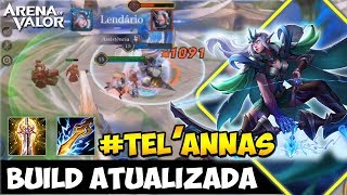 TEL'ANNAS - BUILD ATT - BEST BUILD ARENA OF VALOR