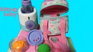 American Girl Bitty Baby Doll Monitor and Bottle Warmer! Bitty Baby Channel