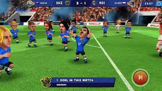 Mini Football Clip 7 1 8 Goals Gameplay Gold League Arena iPhone