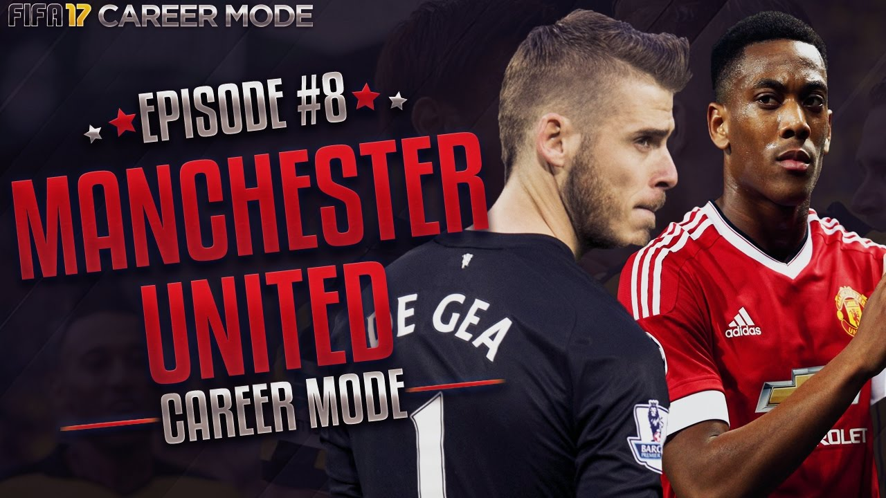 Fifa 17 Career Mode Manchester United Ep 8 Shirt