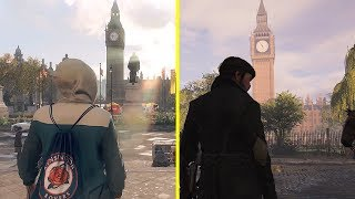 Watch Dogs Legion vs Assassin's Creed Syndicate - London Landmarks Early Comparison [ E3 2019 ]
