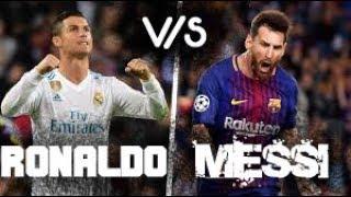 Gambar cover Messi v/s Ronaldo - Top Goals & Fails with Believer (Imagine Dragons) as BG