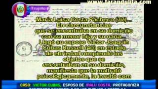 Magaly Teve 19-10-2011 Victor Cubas, esposo de Malu Acosta protagonizo escandalo