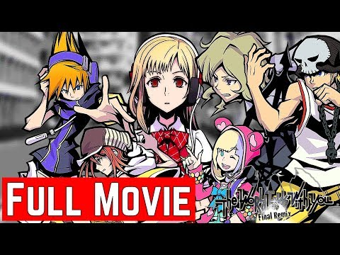 The World Ends with You -Final Remix- Full Movie (All Cutscenes) Main Game + Another Day & A New Day