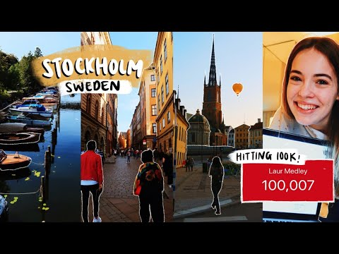 Our Trip To Stockholm, Sweden (+ Hitting 100k!)