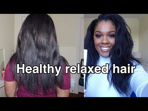 How to get HEALTHY RELAXED HAIR/ tips and tricks |peggypeg_