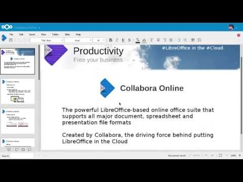 Collabora Online Office – Nextcloud