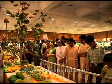 Delhiites visit the Mango Festival