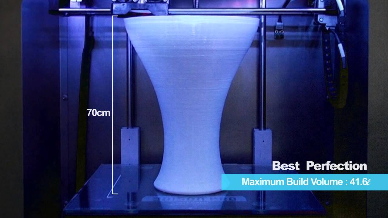 3D Printer New 3DISON Sereis - YouTube