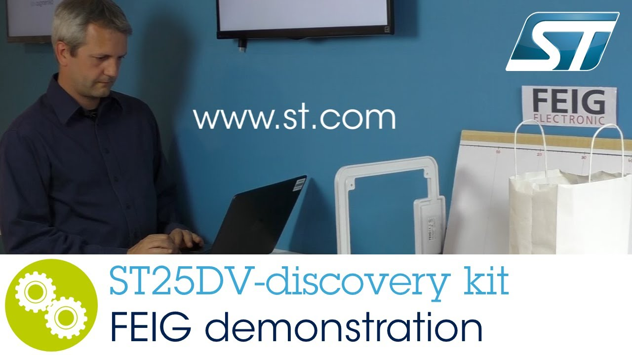 Getting Started NFC: ST25DV discovery kit FEIG Demonstration