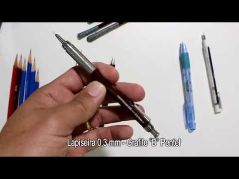 Vídeo Aula Gratuita de Desenho Realista/ Charles Laveso - Os Lápis que eu uso!