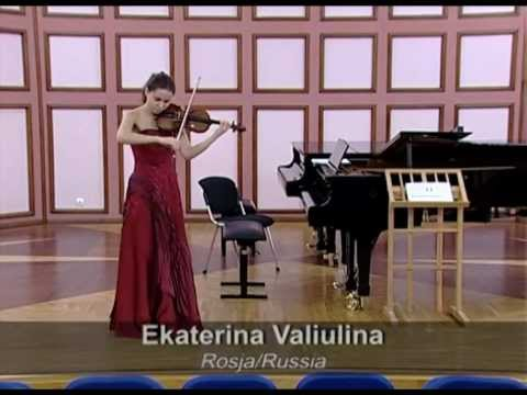 Preliminary selection to 14th International Wieniawski Competition (Moscow, Russia) 2010