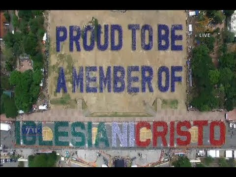 Iglesia Ni Cristo bags new Guinness world record for Largest Human Sentence