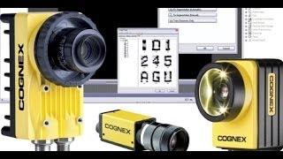 Cognex - Распознавание текста (маркировки) - Обучающий ролик