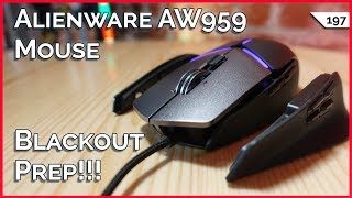 Alienware AW959 Gaming Mouse, Blackout Prep Your Tech, Alexa Microwave and The Visually Impaired