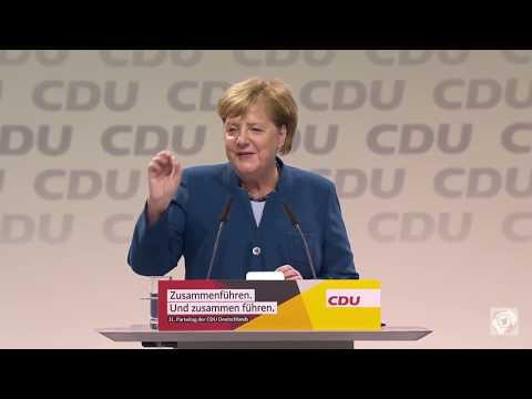 Merkel geht – letzte Rede als CDU-Chefin
