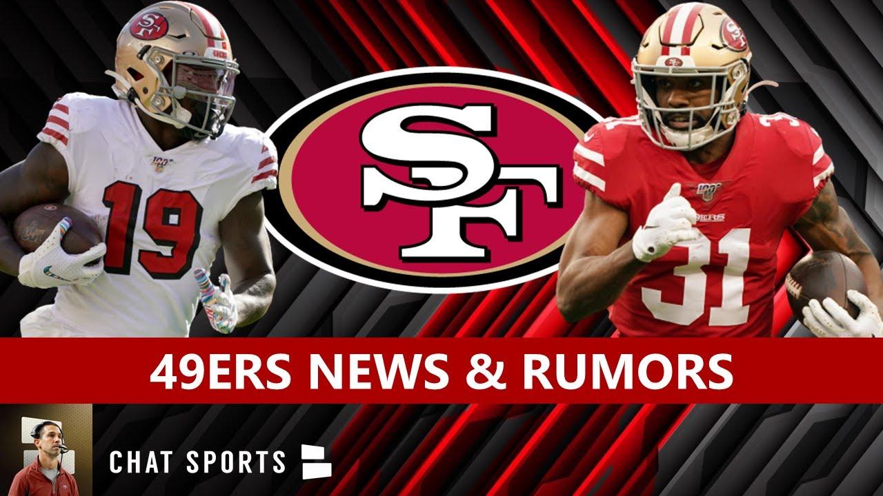 49ers News And Rumors Deebo S Injury Latest Training Camp Update Raheem Mostert Staying Youtube