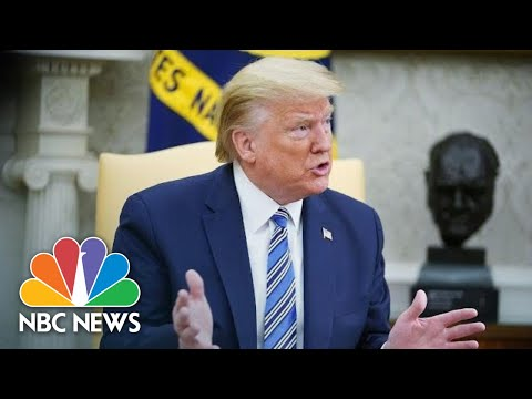 Live: President Donald Trump Meets with CEO of Gilead | NBC News