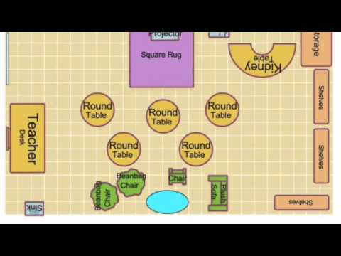 Classroom Floor Plan Youtube