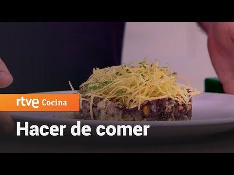 Cómo hacer Revuelto de morcilla - Hacer de comer | RTVE Cocina
