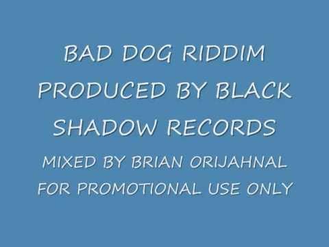 BAD DOG RIDDIM MIX BLACK SHADOW RECORDS