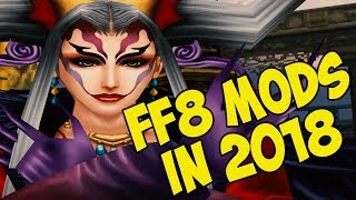Final Fantasy VIII HD Mods (PC / Steam) - Final Bosses Ultimecia & Griever etc... 2018 Edition