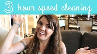 ULTIMATE 3 HOUR SPEED CLEANING ROUTINE | CLEAN WITH ME