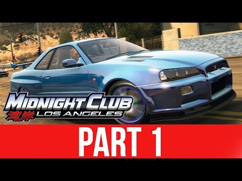 MIDNIGHT CLUB LOS ANGELES XBOX ONE Gameplay Walkthrough Part 1 - MY FIRST CAR