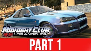 MIDNIGHT CLUB LOS ANGELES XBOX ONE Gameplay Walkthrough Part 1 - MY FIRST CAR thumbnail