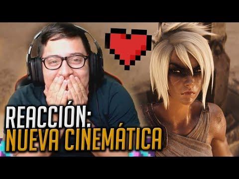 Reacción a Awaken (ft. Valerie Broussard) | League of Legends Cinematic - Season 2019 thumbnail