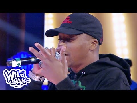 Lupe Fiasco Kicks & Pushes Nick Cannon Out Of This Battle 🔥 | Wild 'N Out | #Wildstyle