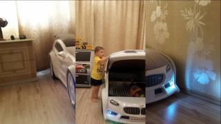 Обзор детской объемной кровати машины BMW. Конкурс, отзывы о продукции Мебелев (Futuka kids).