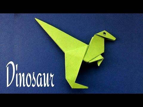 Animal Origami  - Paper   'Dinosaur'