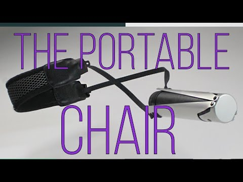 Sitpack ZEN the world's most compact chair | A Portable Travel Foldable Chair