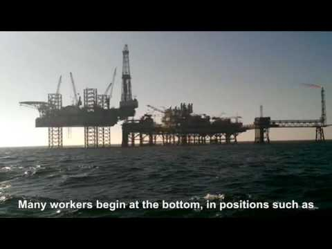 Find a job on offshore oil platforms