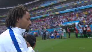 National Anthems World Cup 2014. Germany - USA. HD